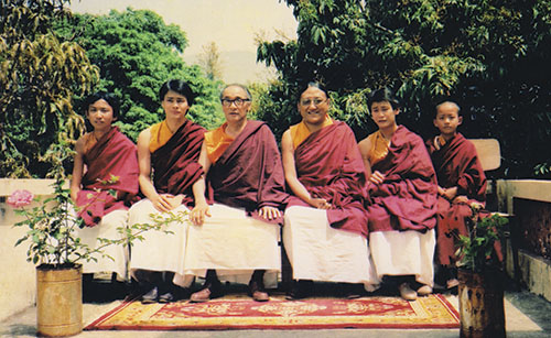 Our humble beginnings – Sakya Centre