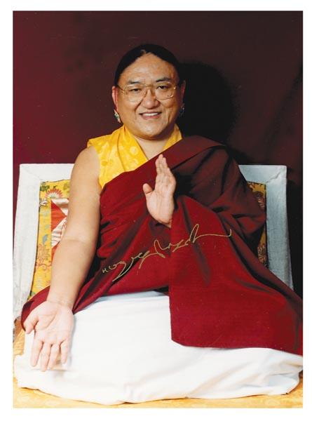 Biography of H H  Sakya Kyabgon Gongma Trichen Rinpoche